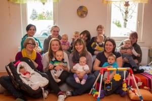 Wir begrüßen alle Neugeborenen mit ihren Eltern...